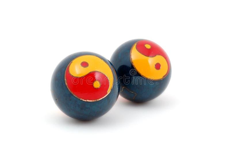 Bolas de Baoding imagen de archivo libre de regalías