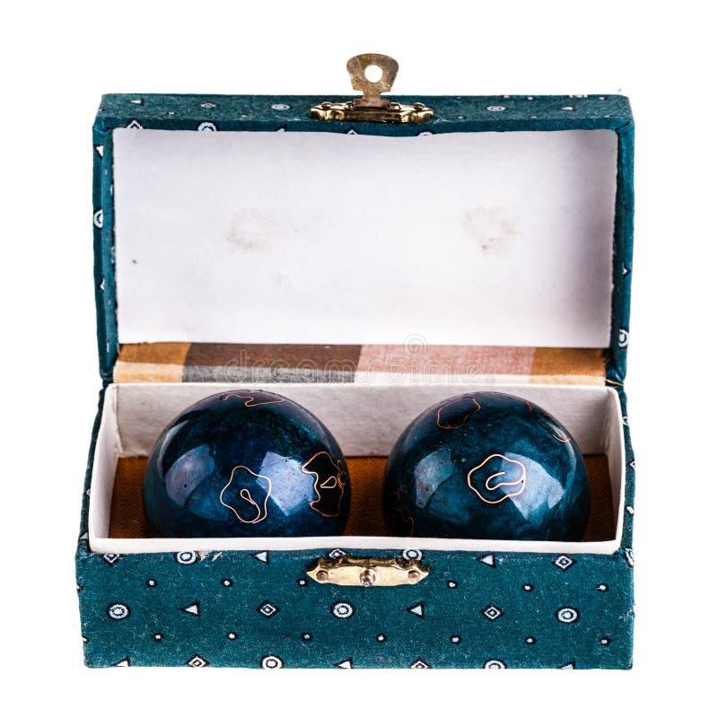 Bolas de Baoding imagenes de archivo