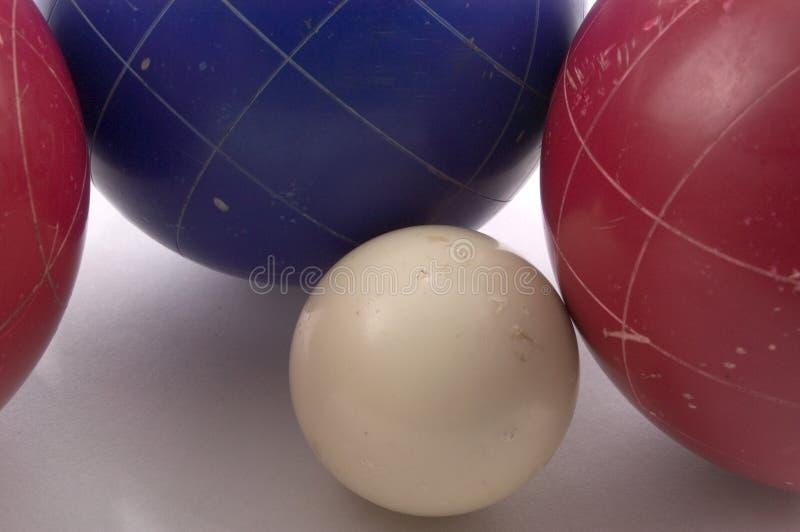 Bolas De Bocce Imagen de archivo libre de regalías