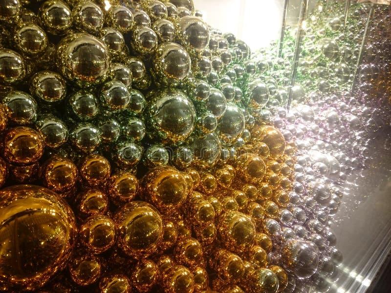 Bolas de cristal fotos de archivo