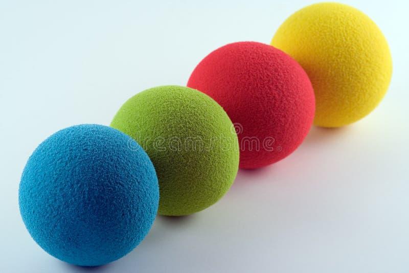 Bolas de la esponja foto de archivo