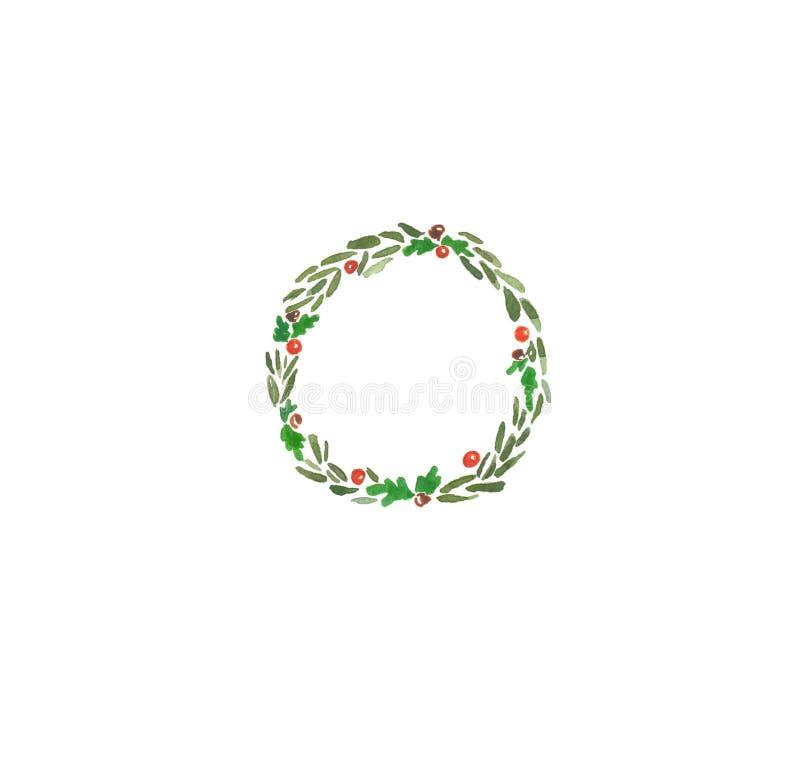 Bolas 5 de la guirnalda de Xristmas imágenes de archivo libres de regalías