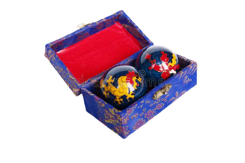 Bolas de la meditación fotografía de archivo libre de regalías