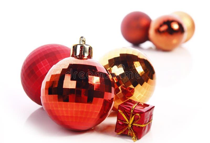 Bolas de la Navidad imagen de archivo