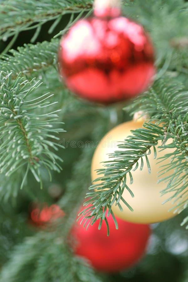 Bolas De La Navidad Foto De Archivo Gratis