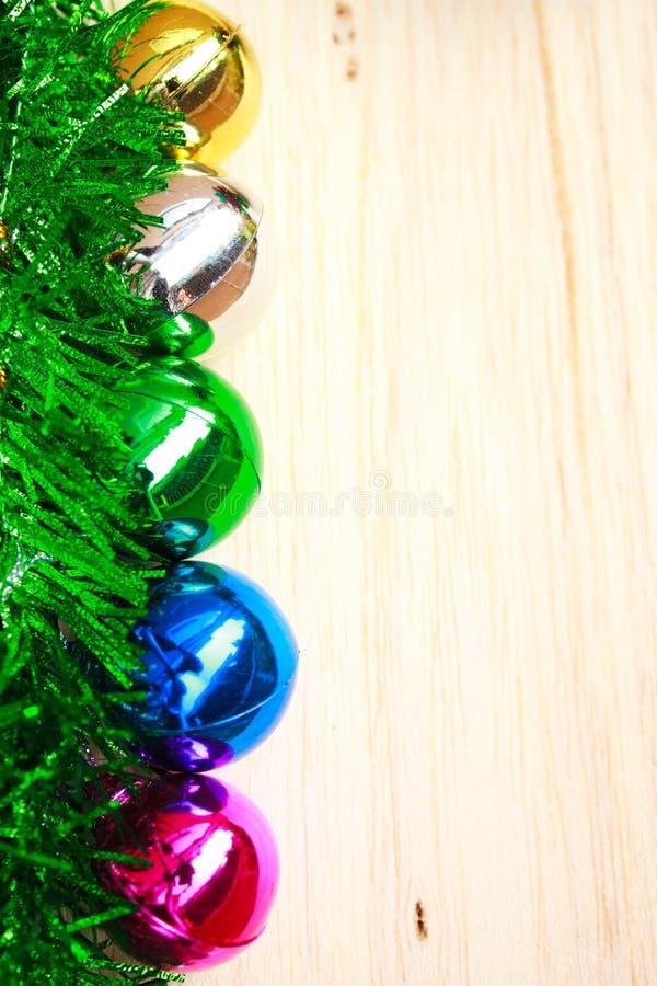 Bolas de la Navidad. foto de archivo