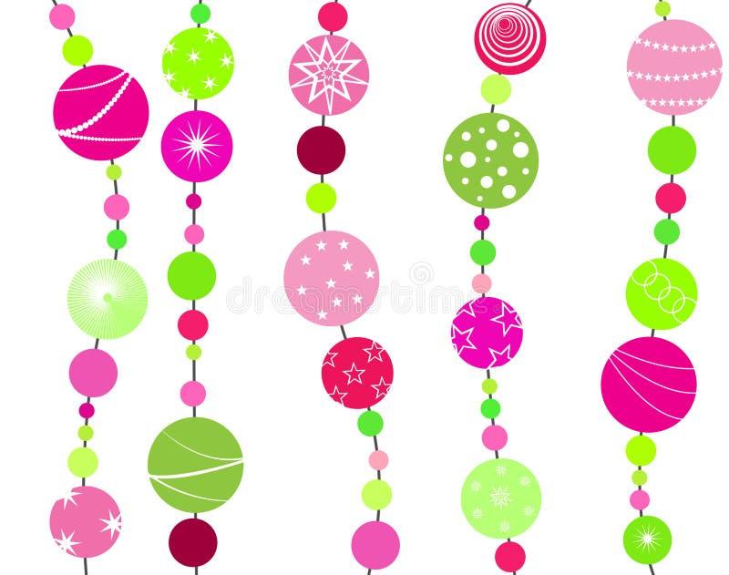 Download Bolas de la Navidad stock de ilustración. Ilustración de navidad - 44858415
