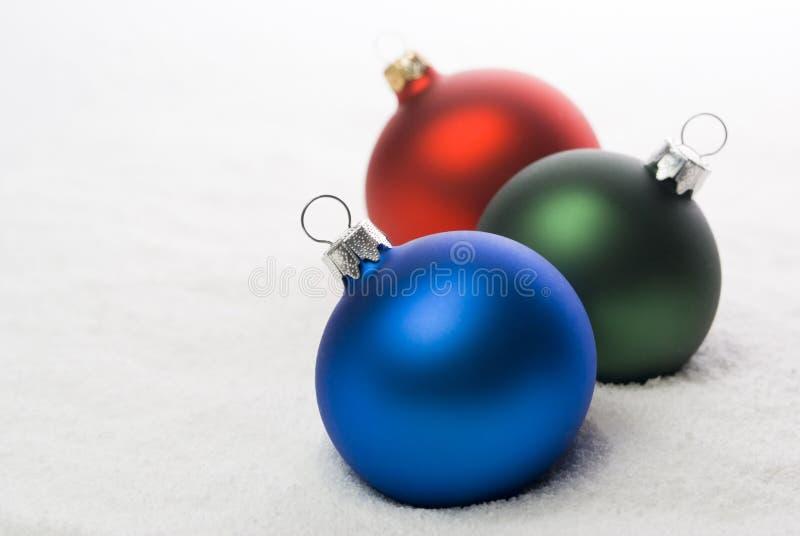 Download Bolas de la Navidad. imagen de archivo. Imagen de verde - 7283015