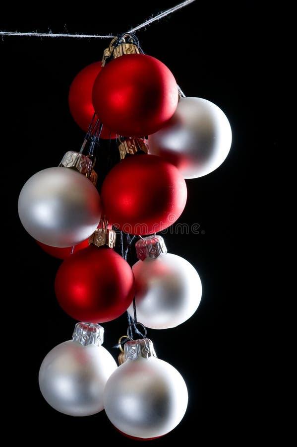 Download Bolas De La Navidad En Fondo Negro Imagen de archivo - Imagen de navidad, negro: 7287589