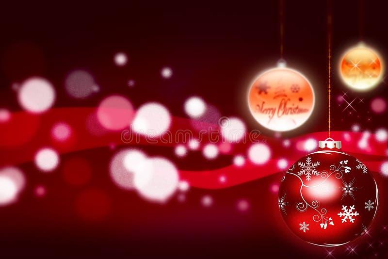 Bolas de la Navidad - ilustración libre illustration