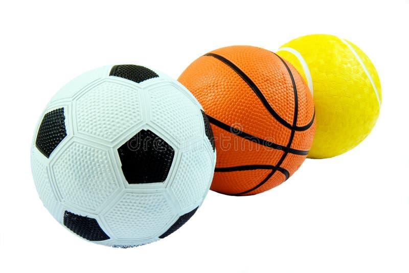 Bolas de los deportes imagenes de archivo