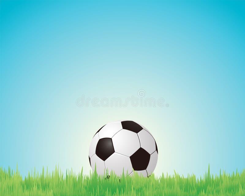 Bolas de los deportes del fútbol, stock de ilustración