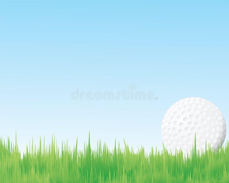Bolas de los deportes del golf, stock de ilustración