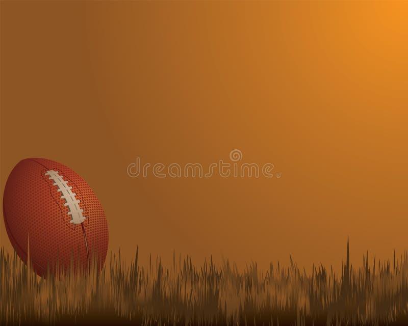 Bolas de los deportes del rugbi, ilustración del vector