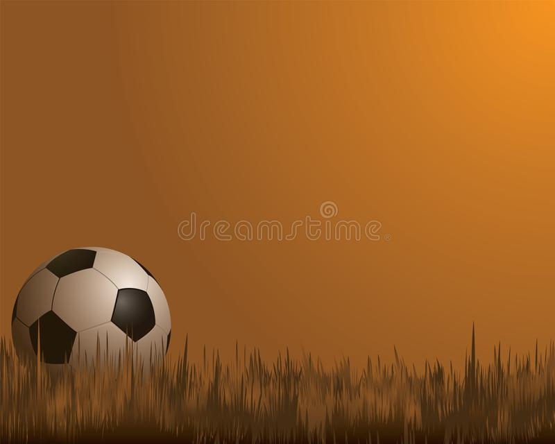 Bolas de los deportes, fútbol libre illustration