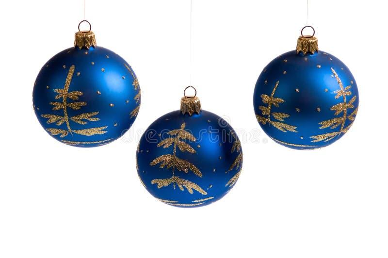 Bolas de Navidad imagenes de archivo
