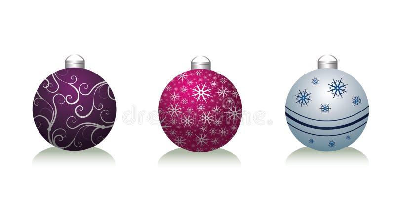 Bolas de Navidad libre illustration