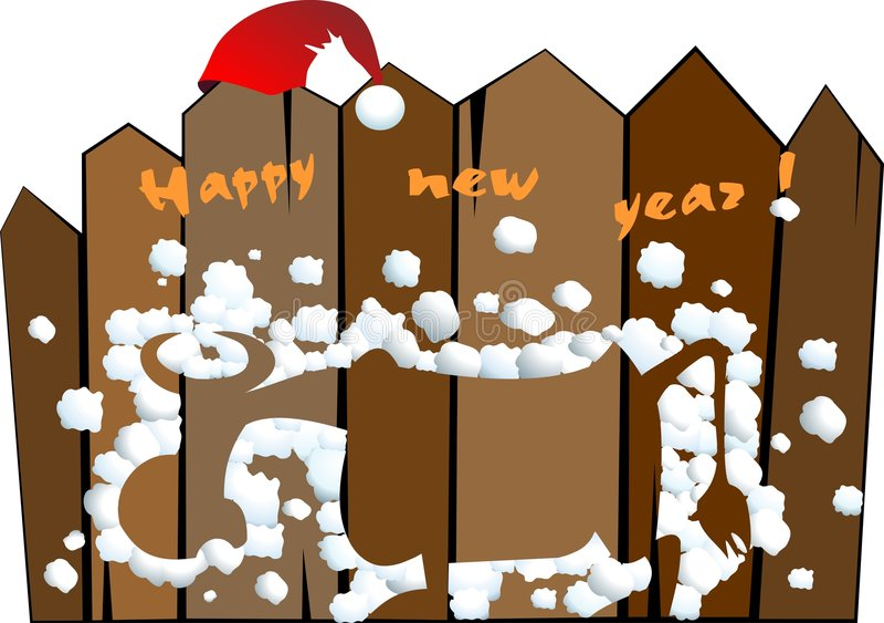 Download Bolas de nieve ilustración del vector. Ilustración de nuevo - 7277019