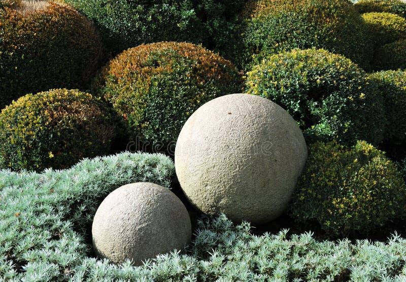 Bolas de piedra imagenes de archivo