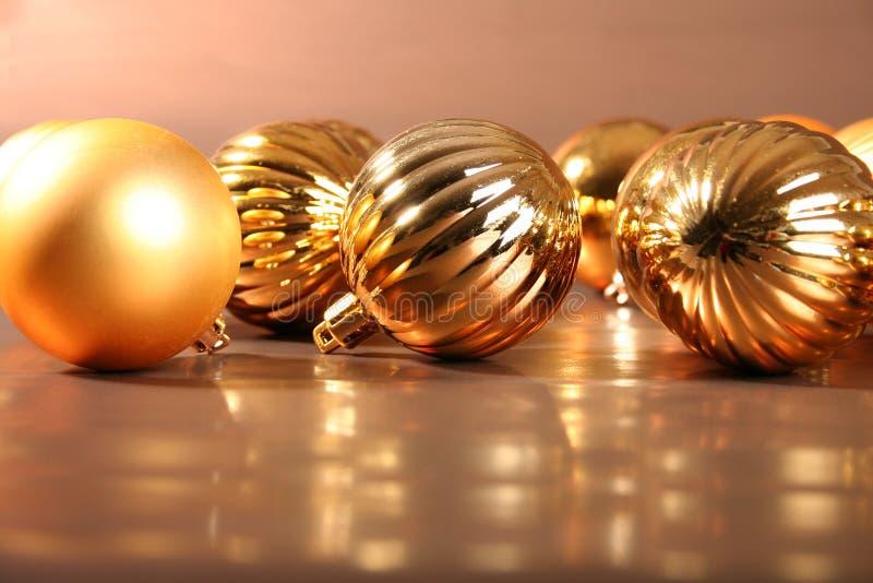 Bolas del árbol de navidad I imagenes de archivo