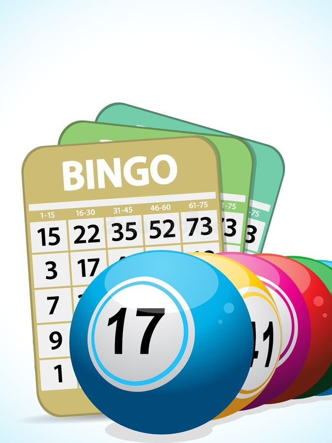 Bolas del bingo y cards2 libre illustration