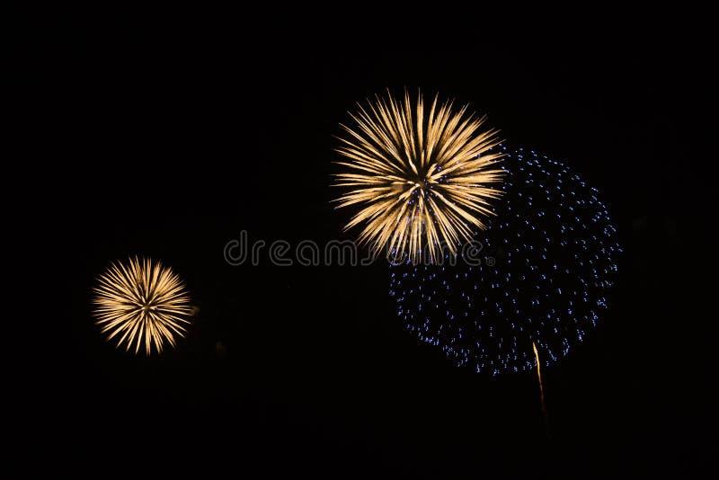Bolas del brillo del cielo nocturno fotografía de archivo