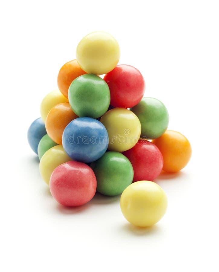 Bolas del chicle de globo foto de archivo