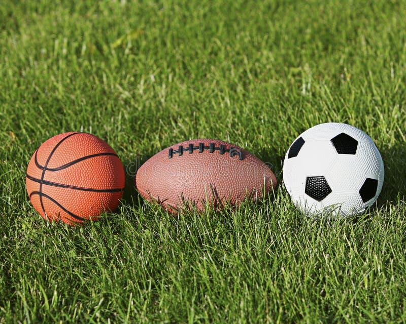 Bolas del deporte imagen de archivo libre de regalías