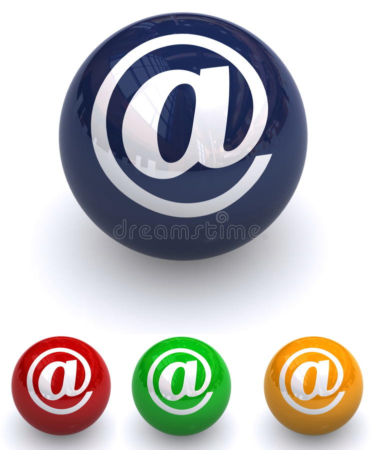 Bolas del email libre illustration