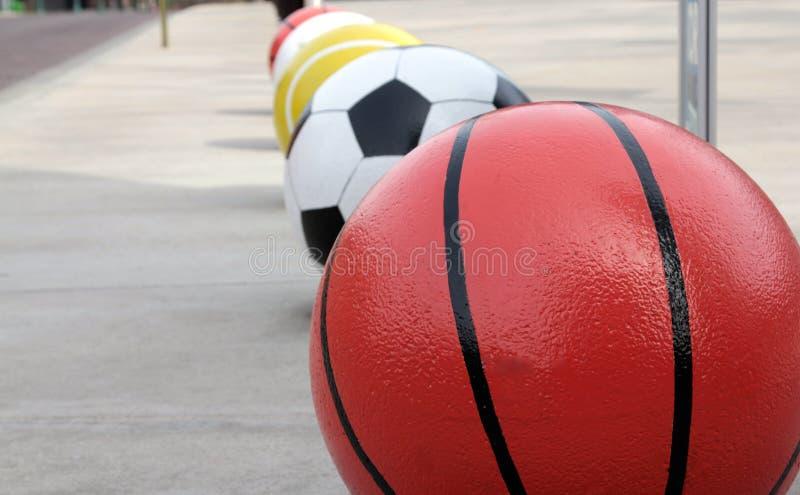 Bolas do esporte imagens de stock