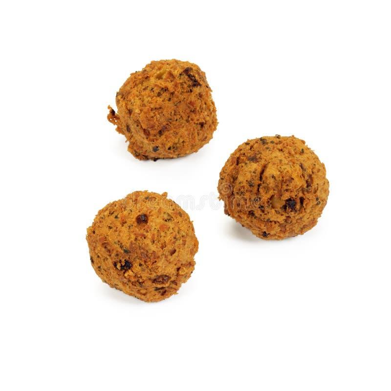 Bolas do Falafel. imagem de stock