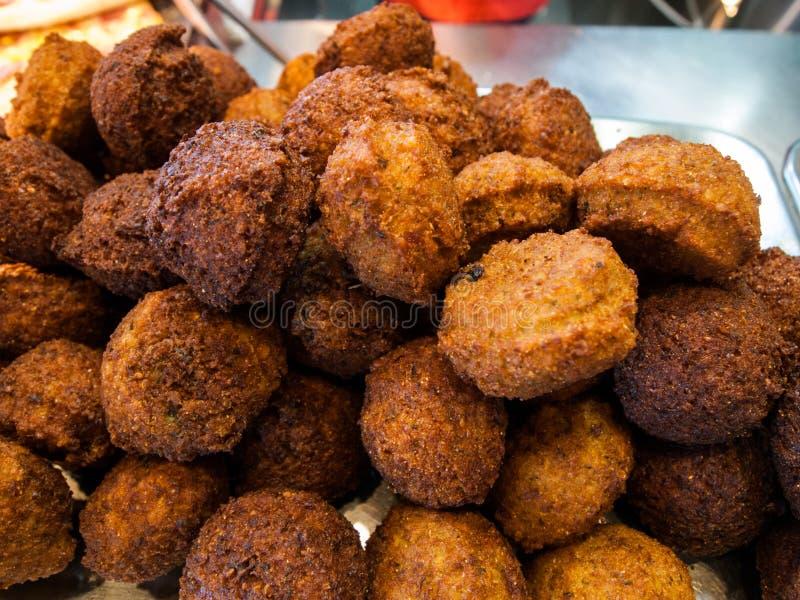 Bolas do Falafel fotografia de stock