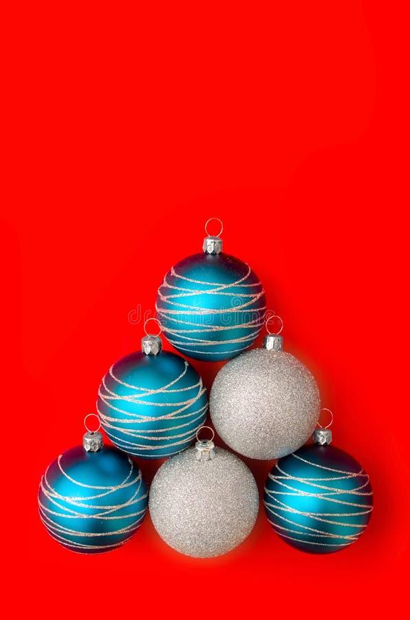 Bolas Do Natal Fotografia de Stock