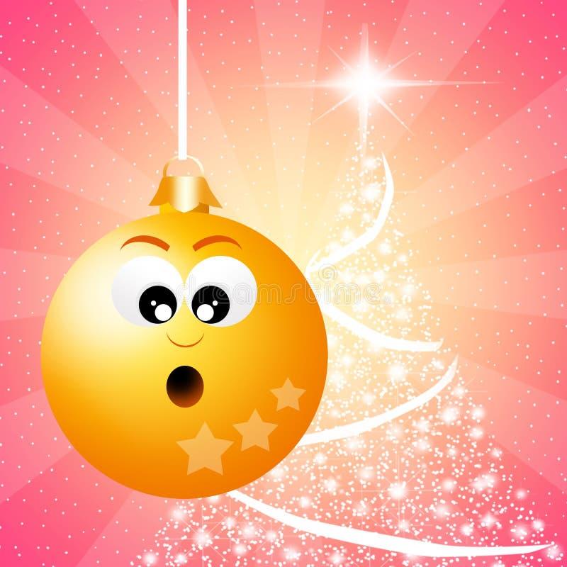 Bolas do Natal ilustração royalty free