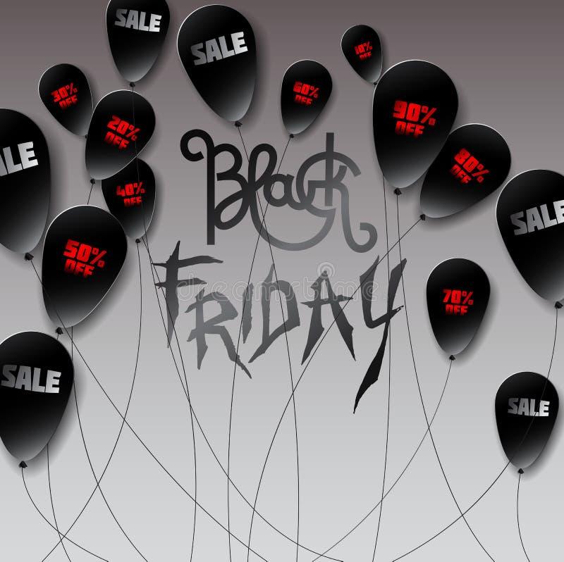 Bolas negras hechas en el estilo de papel con la inscripción roja y blanca: libre illustration
