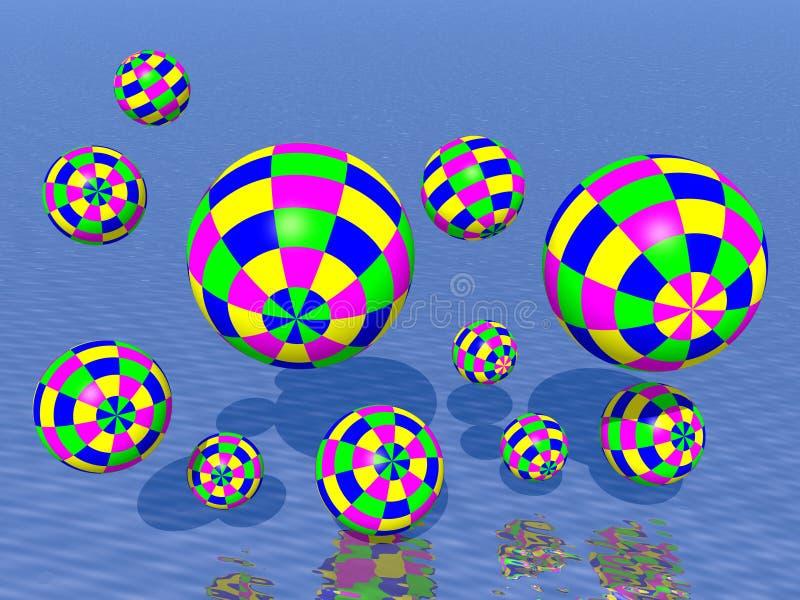 Bolas que hacen juegos malabares libre illustration