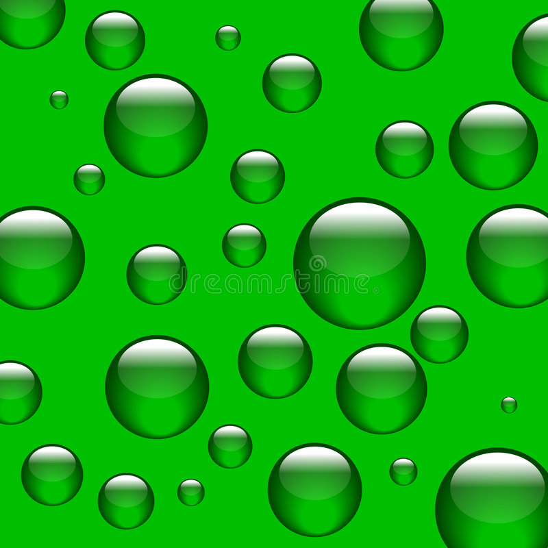 Download Bolas verdes ilustración del vector. Ilustración de muchos - 7285892