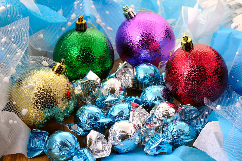 Download Bolas Y Caramelos Varicolored Foto de archivo - Imagen de feliz, bola: 64212512