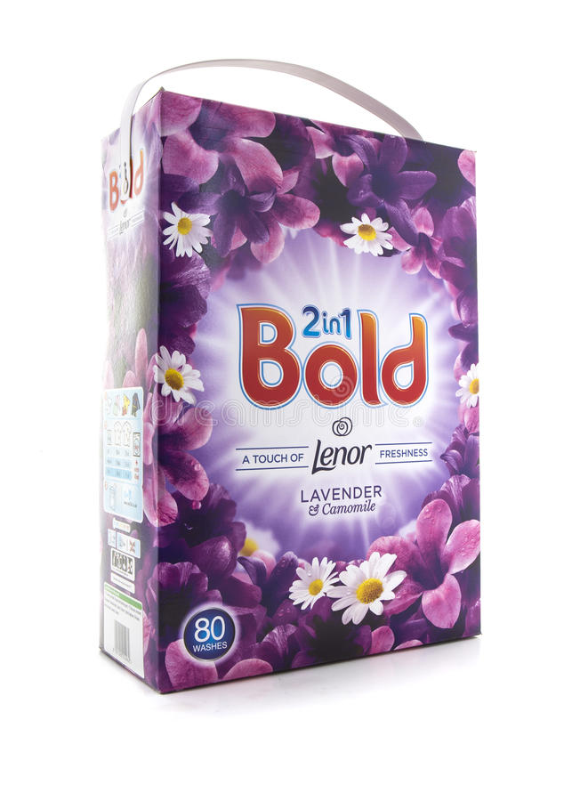 Free Bold 2 In 1 Lavender & Camomile Detergent Stock Image - 76251361