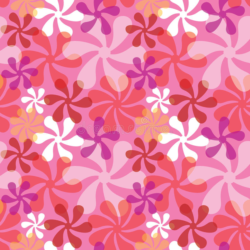 Download Bold Blossoms in Pink stock vector. Image of vintage - 40558075
