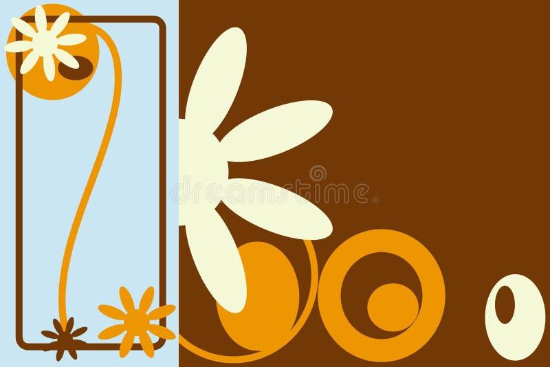 Bold Flowers vector illustration