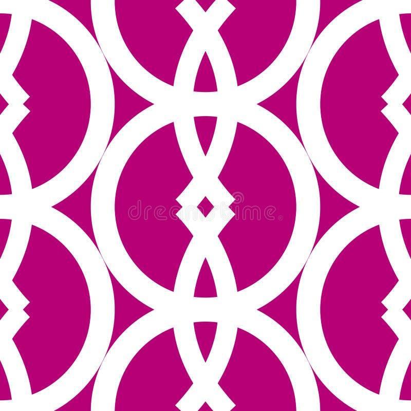 Seamless bold geometrics pattern
