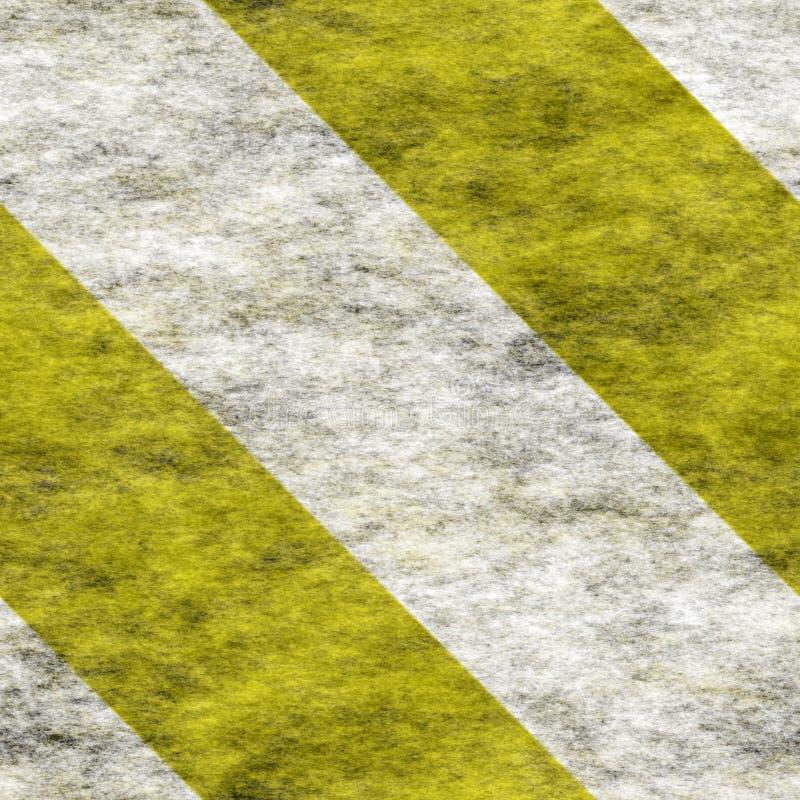 Bold(realce) branco amarelo ilustração do vetor