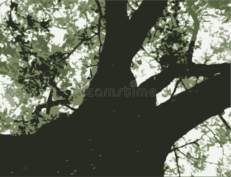 Download Bold Tree Graphic Royalty Free Stock Photography - Image: 5539267