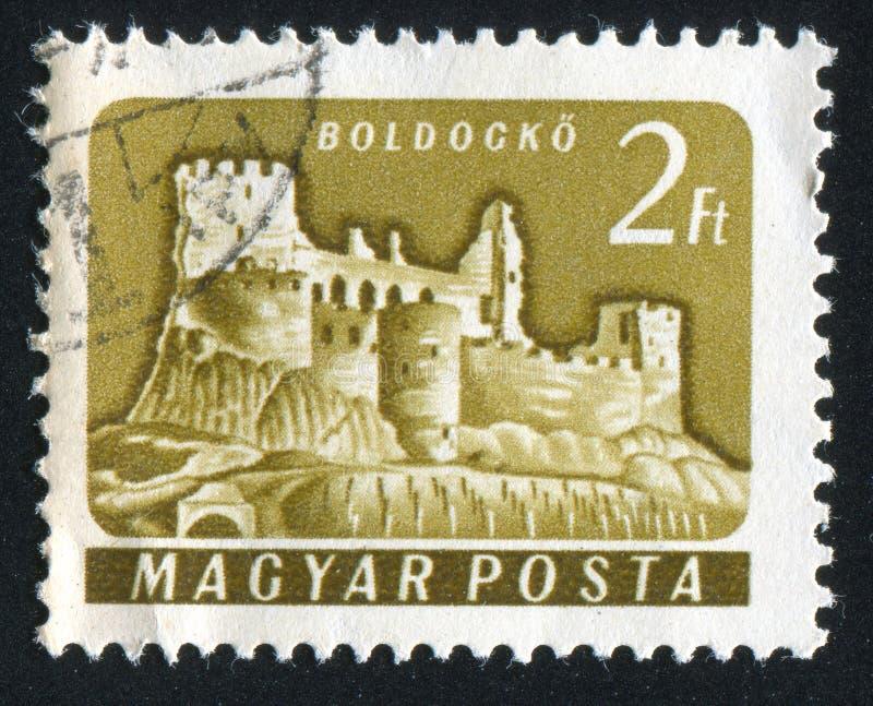 Boldogko Castle royalty free stock photos