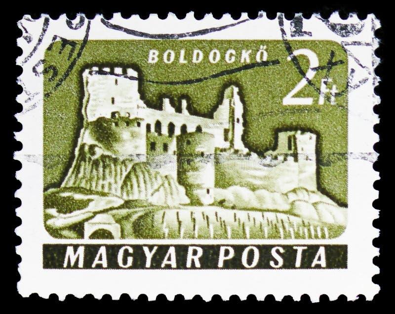 Boldogko, Castles (1960-64) serie, circa 1961 royalty free stock photos