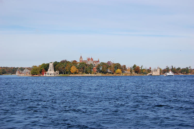 Boldt Castle in Thousand Islands, New York royalty free stock image