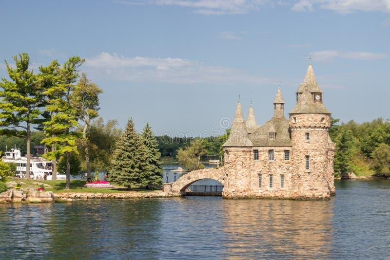 Boldt-Schloss-Insel in tausend Inseln Kanada stockbild