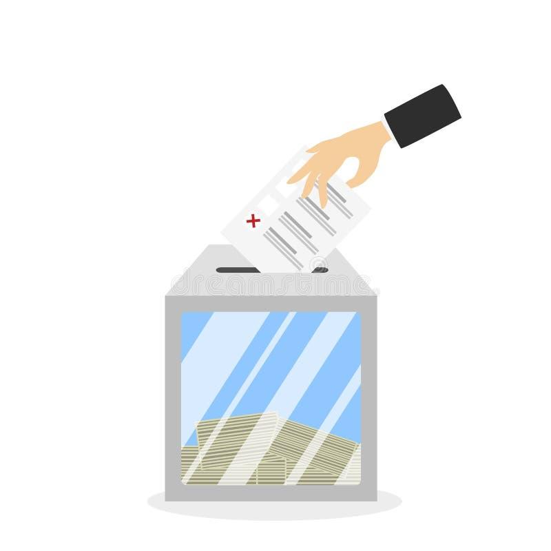 Boletín en caja libre illustration