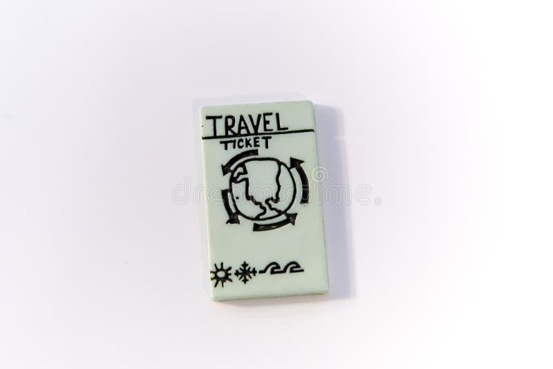 Download Boleto del recorrido foto de archivo. Imagen de palabras - 192266